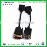 Black DVI to VGA Adapter Cable