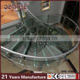 outdoor used spiral staircase prices design / glass spiral staircase/ glass stairs price