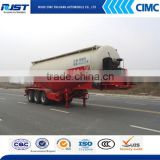 Hot Sale 45m3 Bulk Cement Transportation Tank Semi Truck Trailer /Cement Cargo Tanker Trailer (Volum Optional)