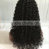 Hot Sales! cheap Human Hair Wig Luxury density Big Wave 100 Virgin Brazilian Hair Full Lace Wig