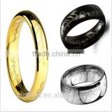 Factory Wholesale supply One Ring The explosion Men's titanium ring The Lord of The Rings