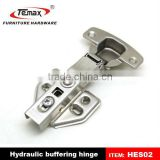 Hydraulic soft close hinge damper