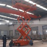 Customized high building cleaning equipment Hydraulic full automatic scissor lift platform                                                                         Quality Choice