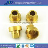 OEM custom supplier brass diameter 2-80mm small precision cnc turned parts