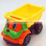 chinese promotional items plastic truck building bricks blocks 3d puzzle toys engine cars for children