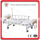 SY-R009 hospital furniture ABS Two-function Hospital Beds nursing bed medical bed for sale