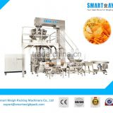 SW-PL1Automatic Plantain Chips Packaging Machine With 2.5L Multihead Weigher