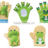 Animal Baby Bath Glove / Baby Bath Hand Puppet / Kids Bath Mitt Frog Monkey Octopus Whale Duck Bear