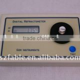 Fable Gem digital Refractometer (FGR-DA) quickly distingush dimonds as well as diamond imitations