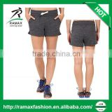 Ramax Custom Women Sport Wholesale French Terry Gym Shorts