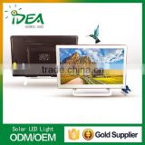 High quality efficiency with consumption china lcd monitor tv with 12 volt dc solar tv