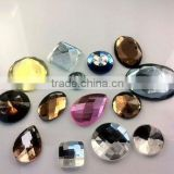 crystal craft fancy flat back stone for shoes and bags , Garment , wholesale price , HOT SALE (R-2321