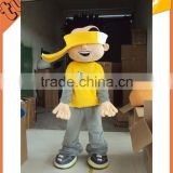 2015 Hot Sell custom plush professional cartoon character mascot costumes for advertsing