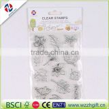 Flower Fairy Angels Transparent Clear Silicone Stamp/Seal for DIY scrapbooking/photo album Decorative sheets