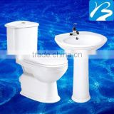 Toilet And Free Standing Basin