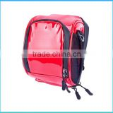 Wholesale factory Red motorbike saddle bags