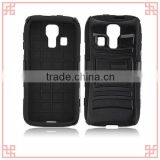 heavy duct hybrid rugged combo hard holster case for kyocera c6725