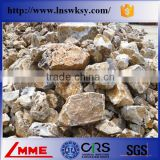 China LMME High quality 0-1mm 1-3mm 3-5mm calcined/burned bauxite granule for road making