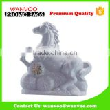 Hot sale Horse Statue Shape Ceramic Liquor Bottle for Home and Bar Decoration