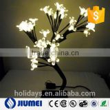 38leds Indoor Lighting Home Christmas New Year Wedding Decoration Desk Table Lamp Fairy LED Cherry Artificial Tree
