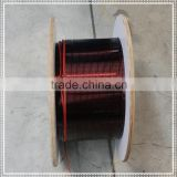 2.85mm*4.90mm insulated aluminum wire,small winding machine coil wire,compressor wire mesh,poly wire