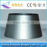 Wholesale round table lamp parts lampshade metal frame cube lamp shade