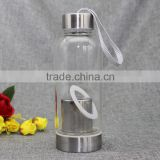 250ml Glass Tea Drinking Bottle With Infuser