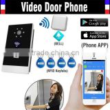 IP video door phone for villa IP wired video intercom door phone system Wireless Door Bell