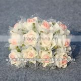 Artificial Rose wedding Bouquets flowers stands Table Decoration,Artificial Foam Flower for Wedding Decoration
