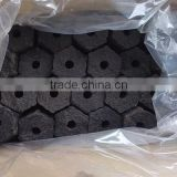 Hexagon briquette charcoal from Vietnam