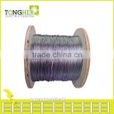 SUS 304 dia 1.2mm anti rust electric fencing stainless steel wire
