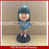 Your own custom design Resin Bobblehead personal design bobble head made in china