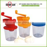 Plastic, green, SGS, RHoS,Useful Kitchenware, Convenient,Garlic Crusher