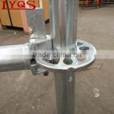 Quick Install Ringlock Scaffold Rosette System Pin Lock Scaffolding for Building Construction