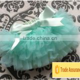 Wholesale fashion boutique chiffon baby clothes tutu baby bloomer multi-layer ruffle baby party bloomer