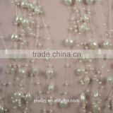 2014 fashion Heart Pearl Beads Garland Wedding Centerpiece flower table Decoration Crafting DIY accessory