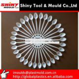 32 Cavities Tea Spoon Mould moldes para cubiertos de plastico desechables-plastic disposable cutlery mould