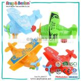 2015 New Promotional Glide Factor(4pcs) Mini Plane Toy