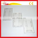 Hot Selling Newest Clear Plastic ID Card Holder