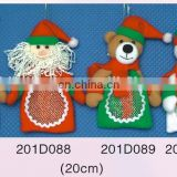 Fashional Style Cheap christmas small cute lively cloth Pendant series 3