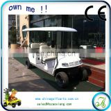 tourism bus 8 seater electric hotel passenger car 48v 4kw AX-C9