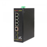 6-Port Gigabit Industrial Managed PoE Switch with 4GE POE + 2GE SFP