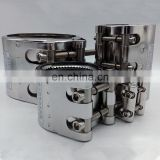 Attractive Design Pipe Coupling Gas Pipeline Repair Kits Water Connector Clamp on Pipe Coupling