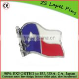 Custom quality Texas Flag Belt Buckle