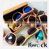 Photochromic Lenses Optical Attribute and Wooden Frame Material Wooden Bamboo Sunglasses