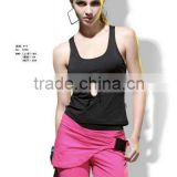 2011 new style fashionable ladies` fitness&yoga wear; active and breathable sport wear for women