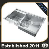 Hot New Products Highest Quality Classic Design Stainless Steel Double Bowl Kitchen Sink