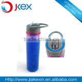collapsible bpa free double wall freezable tritan water bottle