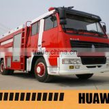 4x2 steyr hydraulic ladder fire truck