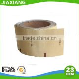 Gold colored custom aluminium foil paper machine wrap roll price for chocolate packaging